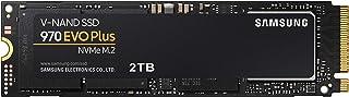 三星 970 EVO Plus 系列 - 2TB PCIe NVMe - M.2 内置固态硬盘(MZ-V7S2T0B/AM)
