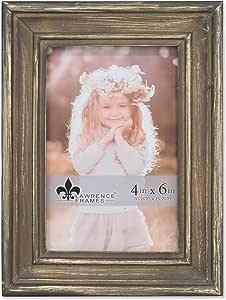 Lawrence Frames 4x6 Durham Weathered 黑木相框 天然 4x6 746746