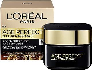 L'Oréal Paris 巴黎欧莱雅 金致臻颜系列 细胞修复锁龄面霜 LSF15,红茶黑松露日间抗皱护理,刺激肌肤更新,50ml