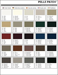 Patch USA Color Guide Color Guide Pelle Patch