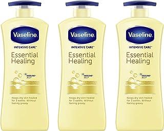 Vaseline 凡士林 护理身体乳霜,适合干性皮肤,经证明一次使用即可深层滋润,20.3盎司/600ml,3件