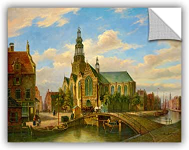 "ArtWall Jackson's Dutch Bridge Removable Wall Art Mural, 14"" x 18"""