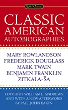 Classic American Autobiographies (English Edition)