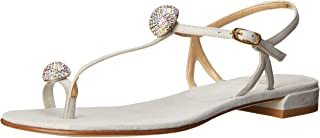 Stuart Weitzman 女式 Ballsoffire 鞋头环凉鞋