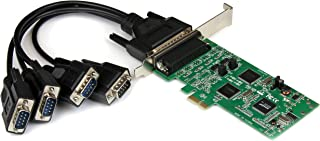 StarTech.com 4 Port PCI Express Dual Profile PCIe Serial Card Adapter with Breakout Cable - 2 x RS232 2 x RS422/RS485 PEX4S232485
