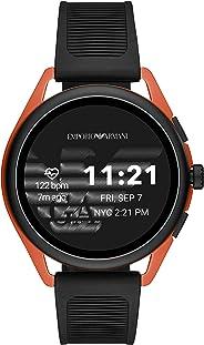 Emporio Armani 安普里奥·阿玛尼智能手表 3 – 带谷歌 Wear OS,扬声器,心率,GPS,NFC 和智能手机通知