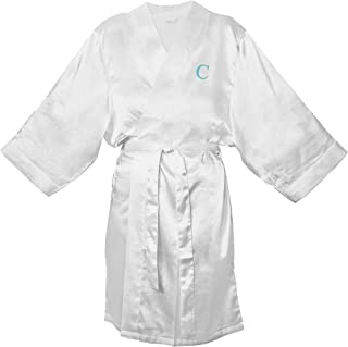 Cathy's Concepts Personalized Satin Robe 白色 L/XL