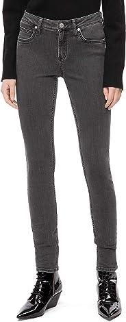 Calvin Klein 女士 CKJ 011 中腰紧身牛仔裤