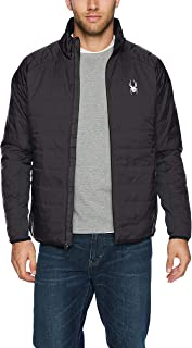 Spyder 男式 Glissade 全拉链 Primaloft 保暖夹克羽绒外套