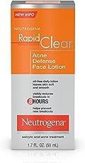 Neutrogena Rapid Clear 系列 对抗痤 面部乳液,1.7 盎司(3 包装) Neutrogena Rapid Clear 系列 对抗痤 面部乳液,1.7 盎司(3 包装)