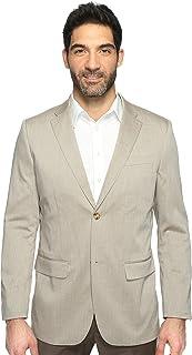 Perry Ellis 男式混色斜纹弹力西装外套 淡色(Natural Linen) 38 Regular