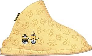 丸真 冬用 角色 boaes拖鞋 黄色 約22〜24cmに適応 4805003300