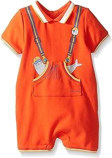 Little Marc Jacobs 男宝宝 Polo 衫款式连身衣,新生儿可爱