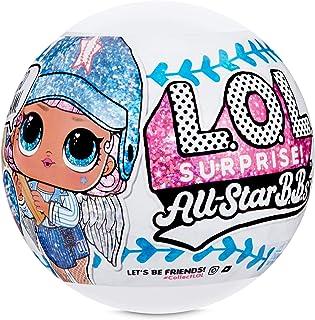 L.O.L 惊喜! 全明星 B.B.s 运动系列 1 棒球闪亮玩偶 8 个惊喜