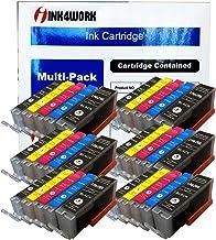 INK4WORK 30 包兼容替換裝 PGI-250XL 和 CLI-251XL 墨盒 Pixma MX722 MX922 MG5620 MG5420 MG5422 MG5520 MG5522 MG6620 iX6820 iP7220
