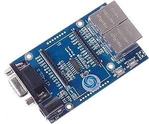 SMAKN® Uart-WIFI 模块序列 WIFI SCM WIFI HLK-RM04 简化测试板 RS232 5V