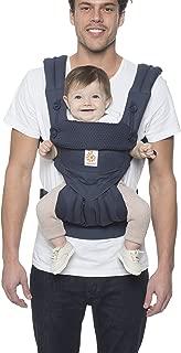 Ergobaby 360 All Carry Positions *清爽网格人体工程学婴儿背带,碳灰色