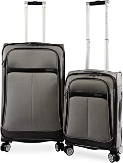 Perry Ellis 21 Inch and 29 Inch Marquis Spinner Luggage Set