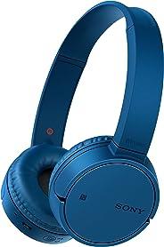 Sony 索尼 WH-CH500 無線藍牙NFC藍牙耳機,20小時電池續航時間 - 藍色