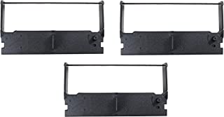 Sam4s 3 件装 ER-5115II 丝带、丝带、墨水、盒、兼容 TEC MA-1350、MA-1530、MA-1535、ERC-32、ERC32、爱普生 M820、TM-935、TM-U150、TM-U420、TM-U675、TM-H60...