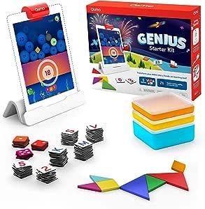 Osmo 天才早教套装 适用于 iPad (新版本) -6-10岁 - (包含Osmo底座)