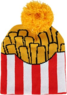 Densley & CO 儿童 4-6 趣味食品新颖无檐小便帽