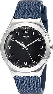 Swatch 中性成人石英手表带橡胶表带 YWS102