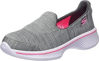 Skechers Go Walk 4 一脚蹬儿童运动鞋(小童/大童)