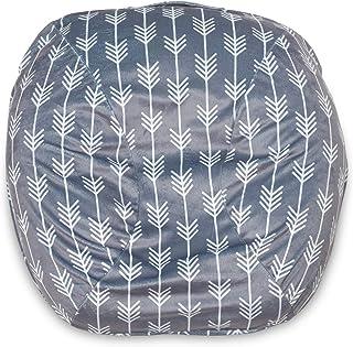 Boppy Boutique 新生儿躺椅套,灰色箭头,时尚设计新颖,适合所有新生儿躺椅