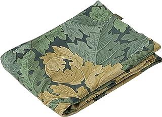 东京西川 Morris画廊 朝日图案 日本制造 丝绸 绿色 シングル PI08900669G