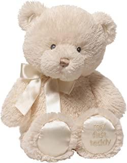 Baby GUND My First Teddy Bear Stuffed Animal Plush, Cream, 10""