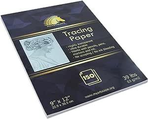 """描图纸 - 150 张 - 39lb - 9"""" x 12"""" - MyArtscape 150 Sheets MAS-301-TRACING-PAPER-39LB-150-SHEETS"""