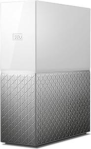 West Digital 西部数据 WD my cloud home 个人云桌面移动硬盘 加密存储设备 家庭云网络服务器 单盘 单驱动器 8TB (集中管理 远程访问)