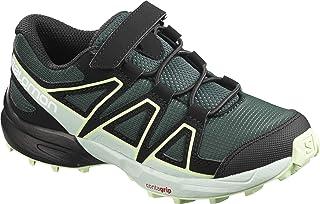 Salomon 萨洛蒙 儿童 运动鞋 Speedcross Bungee Kids ( 速度交叉 ) GREEN GABLES/ICY MORN/PATINA GREEN 18.5 cm