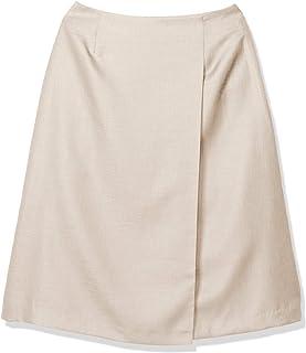 NATURAL BEAUTY BASIC 裙子 [可水洗] Asics 金属喇叭裙 女士 017-0120806