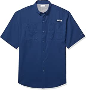 Columbia Tamiami Ii S 衬衫 大 蓝色 1287051-469-Large
