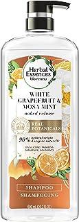 Herbal Essences Bio:更新白色葡萄柚和Mosa 薄荷洗发水,4 只装