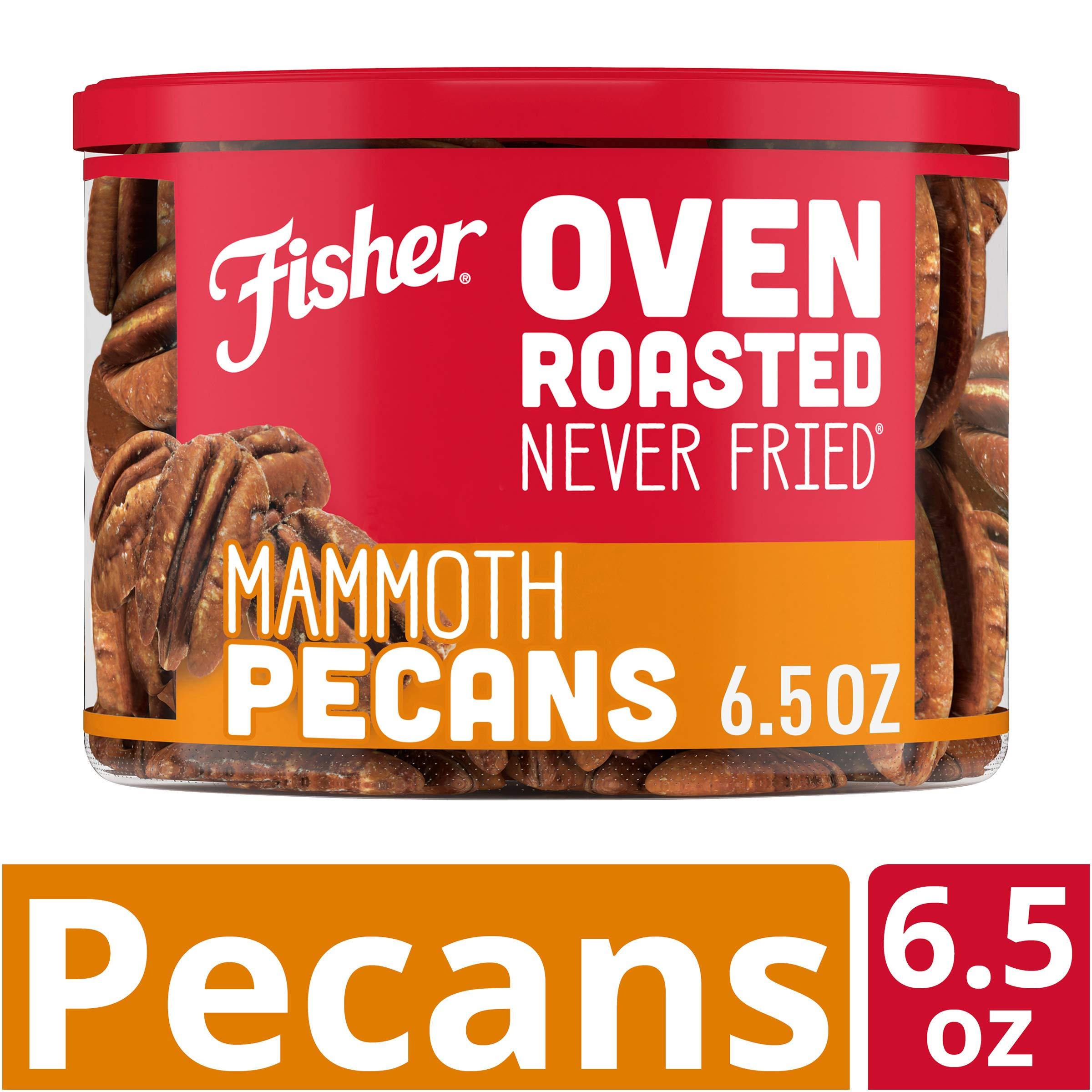 FISHER 零食,烤箱*会冰,Mammoth 山核桃,海盐制造,6.65 盎司