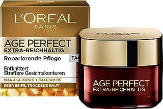 L'Oréal Paris 巴黎欧莱雅 Age Perfect 特浓麦卢卡蜂蜜保湿日霜,适用于干性肤质,50ml