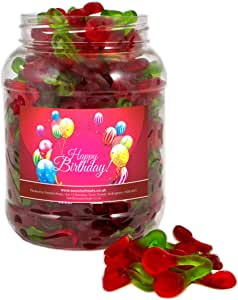 Mr Tubbys Twin Cherries - Happy Birthday Red Label - Large Jar 1500g(Pack of 1)