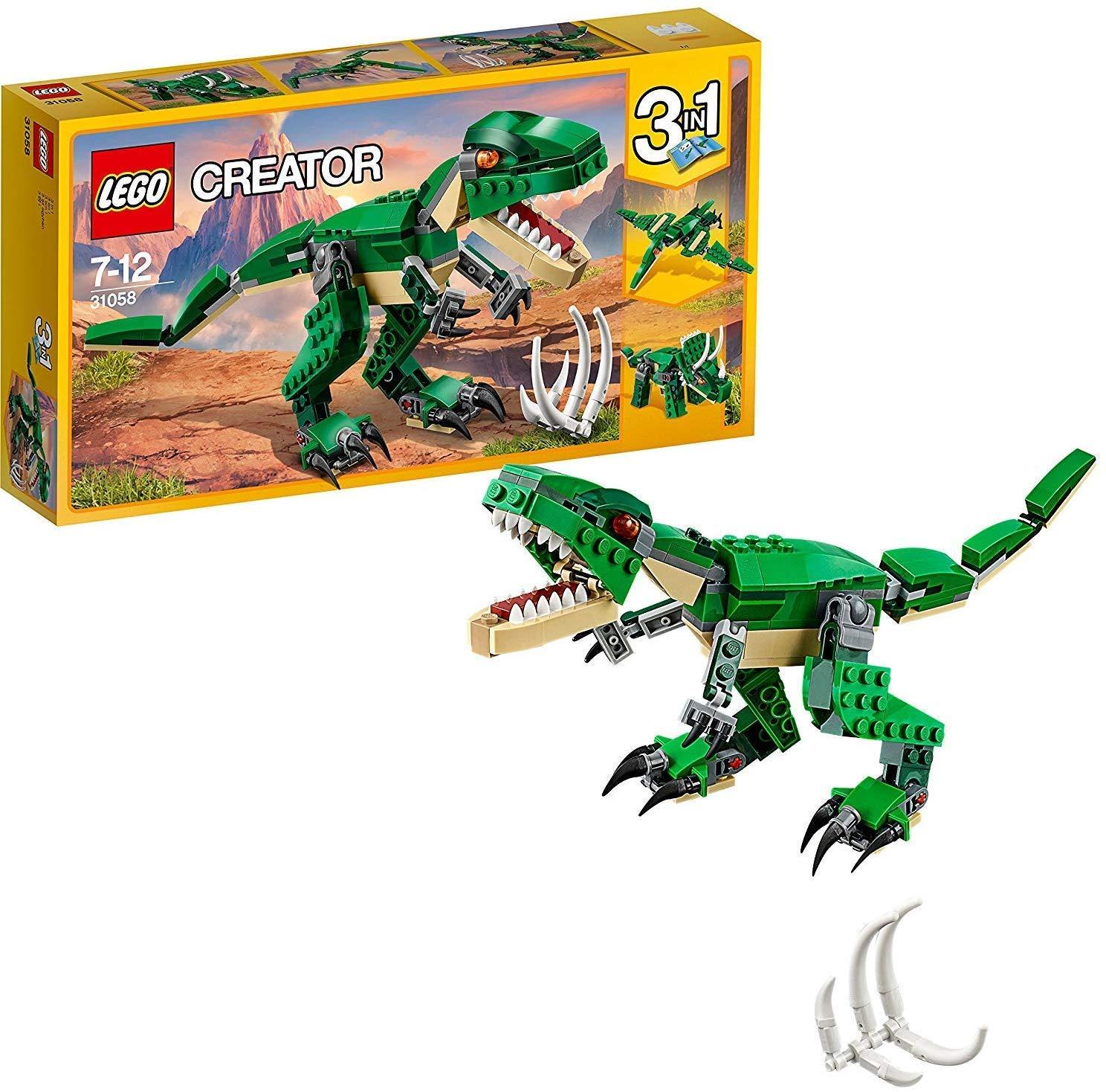 LEGO 乐高 拼插类 玩具 Creator 创意百变系列 凶猛霸王龙- 31058