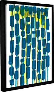 "ArtWall Jan Weiss's Beaded Curtain Gallery Wrapped Floater-Framed Canvas, 24"" x 32"""