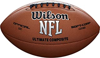Wilson F1845 NFL Ultimate Composite 比赛用球 (官方尺寸)