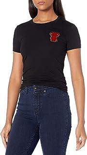 Emporio Armani 安普里奥·阿玛尼女式芒加熊 T 恤