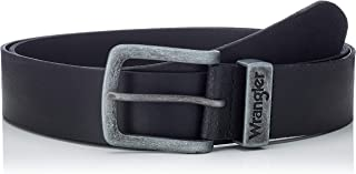 WRANGLER 男式基本款金属 Loop 皮带