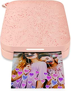 HP Sprocket Portable Photo Printer (2nd Edition) – Instantly Print 2x3 Sticky-Backed Photos from Your Phone – [Blush] [1AS89A]
