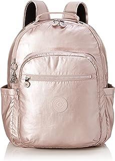 Kipling 凯浦林 Basic Plus 休闲背包,43 厘米,24升,粉色(金属玫瑰色)
