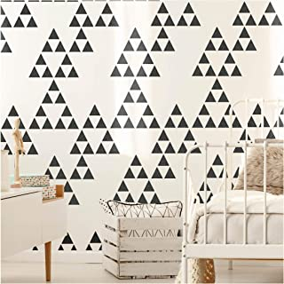 Naasko 三角形家具墙模板 用于绘画和绘画。 Wall Large