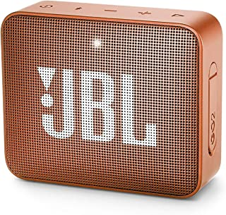 JBL GO2 便携式蓝牙扬声器,带可充电电池,防水,内置扬声器,橙色