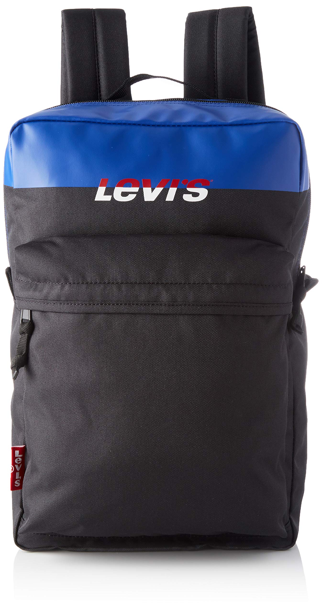 LEVIS FOOTWEAR AND ACCESSORIES The Levi's® L Pack 标准色块,男士,黑色(深色),13x26x41 cm (宽 x 高)